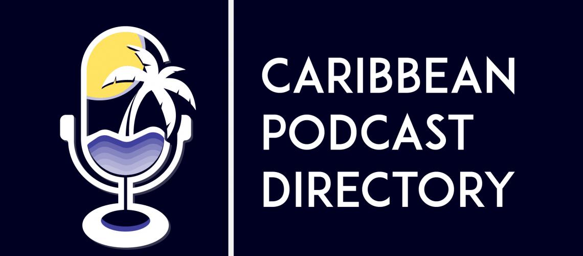 caribbean podcast directory logo navy